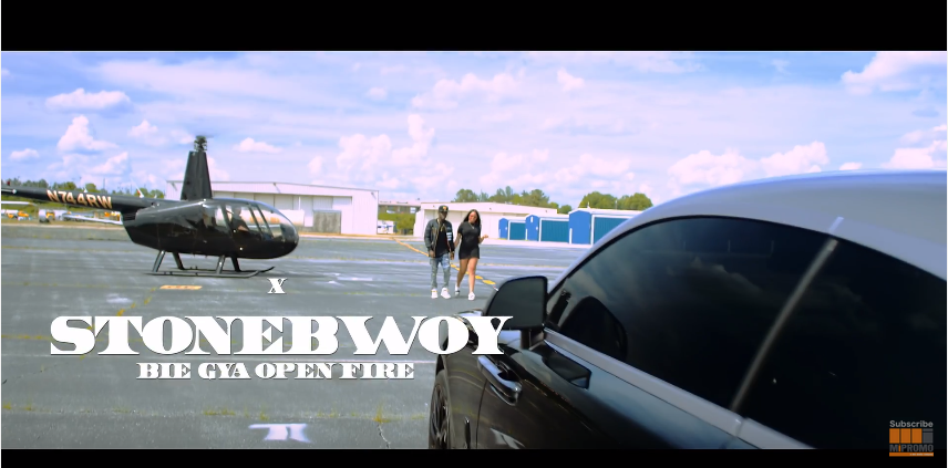Criss Waddle Feat Stonebwoy - Bie Gya (OPEN FIRE) Official Video