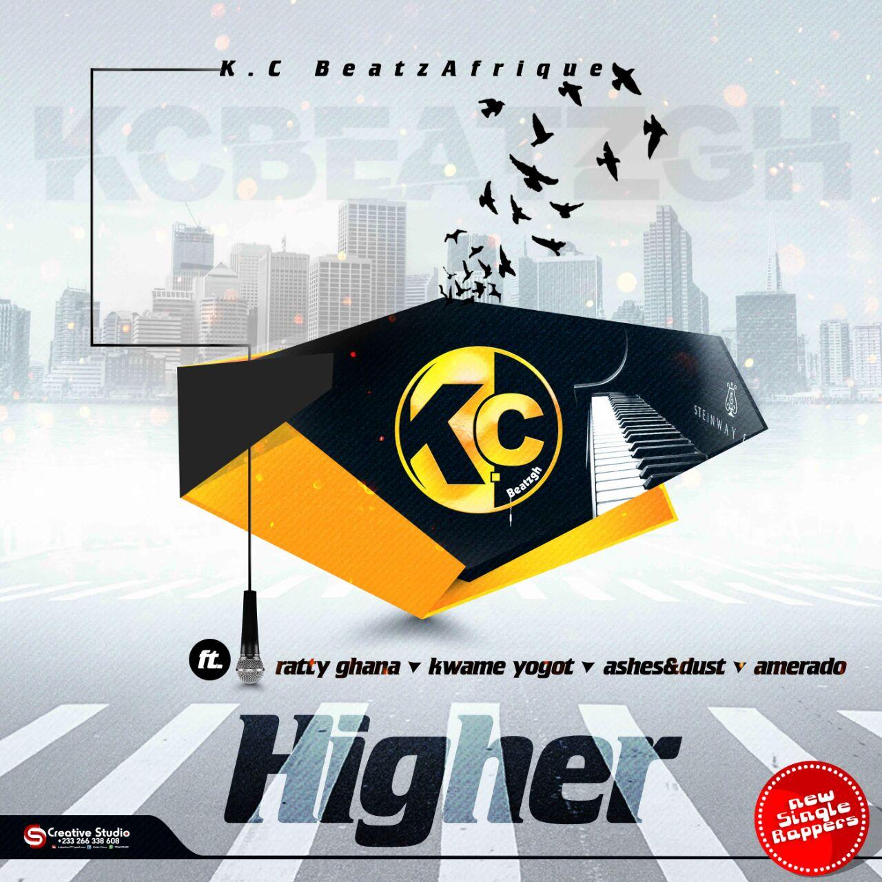 K.C Beatz Afrique ft Ratty ghana,Amerado,Kwame Yogot,Ashes & Dust