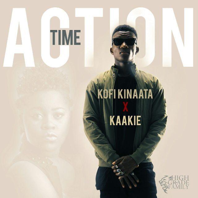 Kofi Kinaata ft. Kaakie – Action Time (Prod. by JMJ)