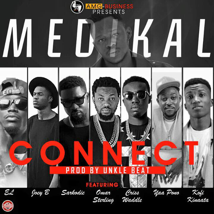 Medikal – Connect ft Sarkodie, E.L,Kofi Kinaata, Joey B, Criss Waddle, Omar Sterling x Yaa Pono