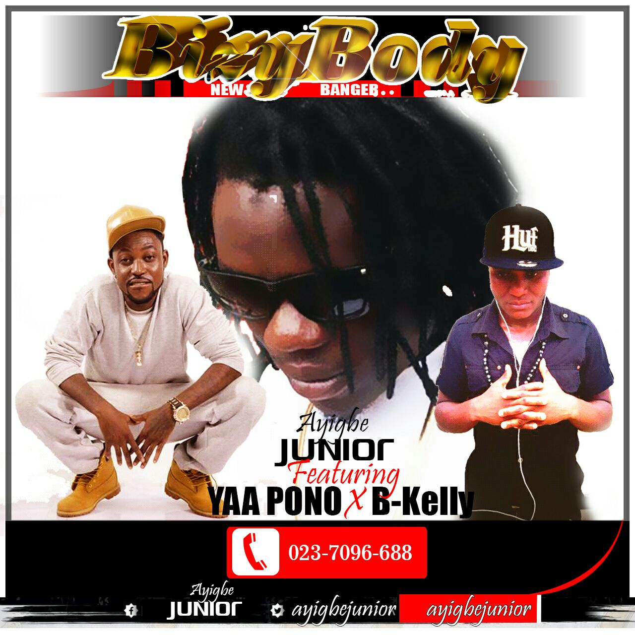 Ayigbe Junior Feat Yaa Pono & B-Kelly - Bizy Body