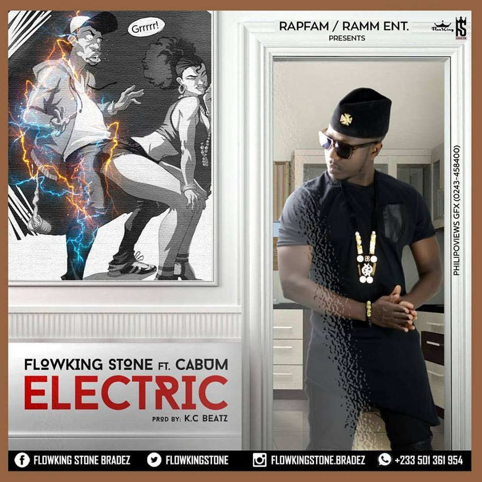 Flowking Stone Ft Cabum - Electric (Prod By K.C Beatz)
