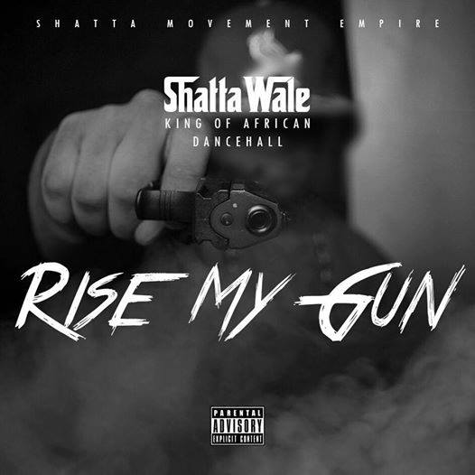Shatta Wale - Rise My Gun (Mastered By Da Maker Prod By Dj Breezy )