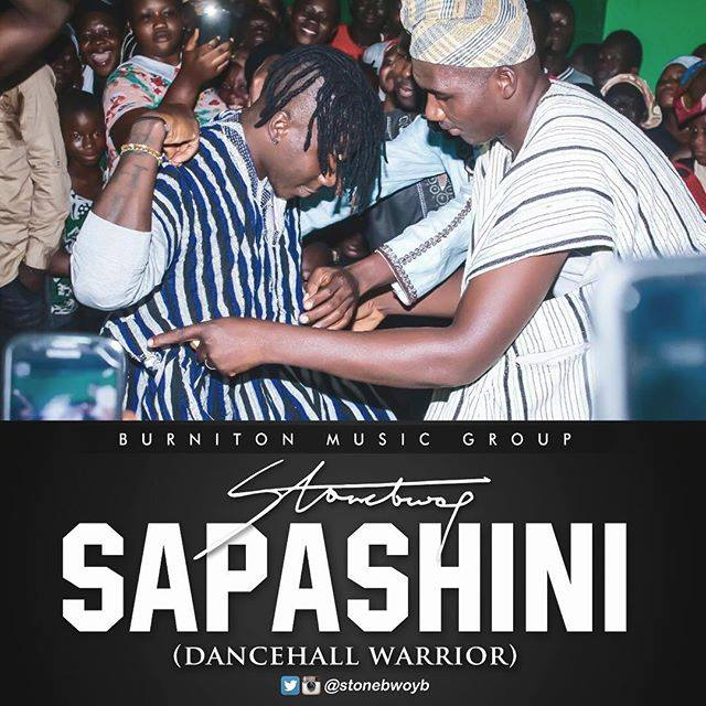 Stonebwoy - Sapashini ( Dancehall Worrior) (Prod. By Beatz Dakay)