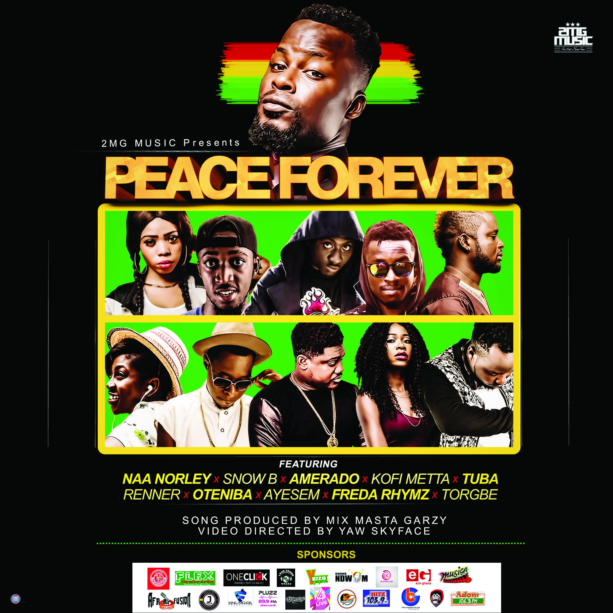 gh-youth-peace-forever-all-stars-2016-election-prod-by-mix-masta-garzy