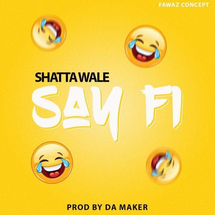 Shatta Wale - Say Fi Yaa Pono Diss