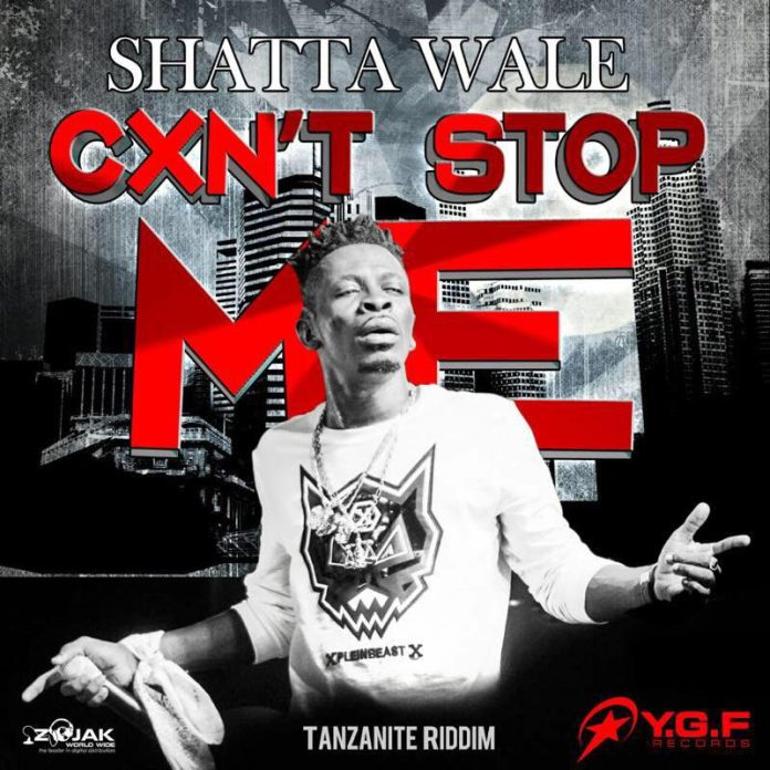 Shatta Wale - Caan Stop Me (Prod By Ygf Records)