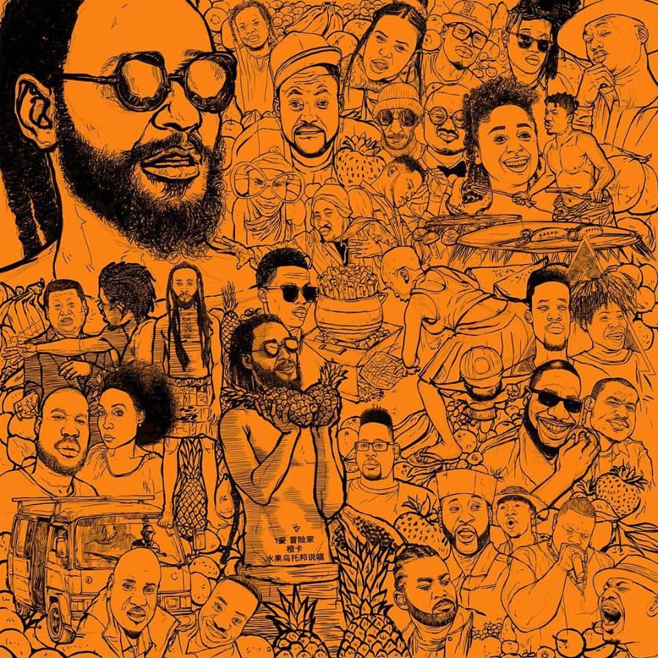 Wanlov the Kubolor - Mek We Rap ft Medikal x EL x Dex-Kwasi x Akan x Kwabena Jones x M3NSA x Macanache x Open Mike Eagle x Efo Chameleon