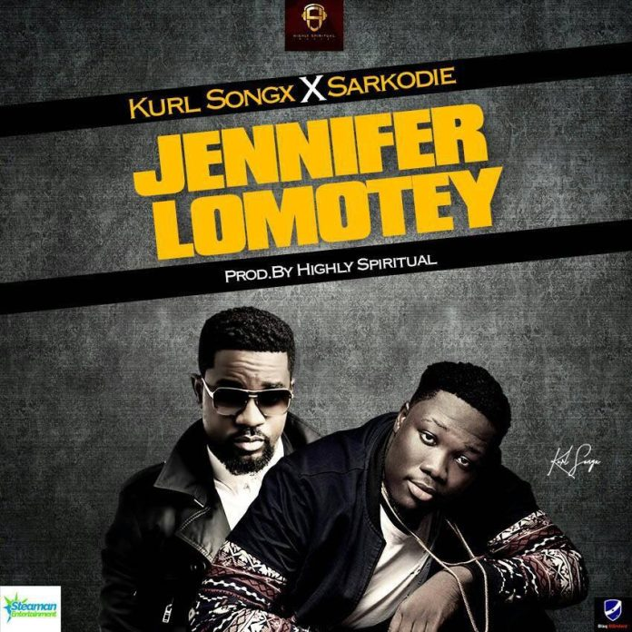 Kurl Songx ft. Sarkodie - Jennifer Lomotey (Prod By Kaywa)