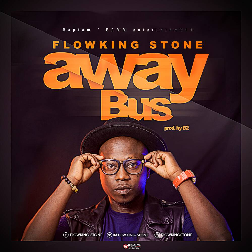 Download MP3 : Flowking Stone – Away Bus (Prod By B2)