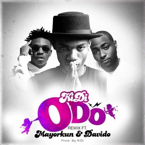 KiDi - Odo remix ft Davido & Mayorkun
