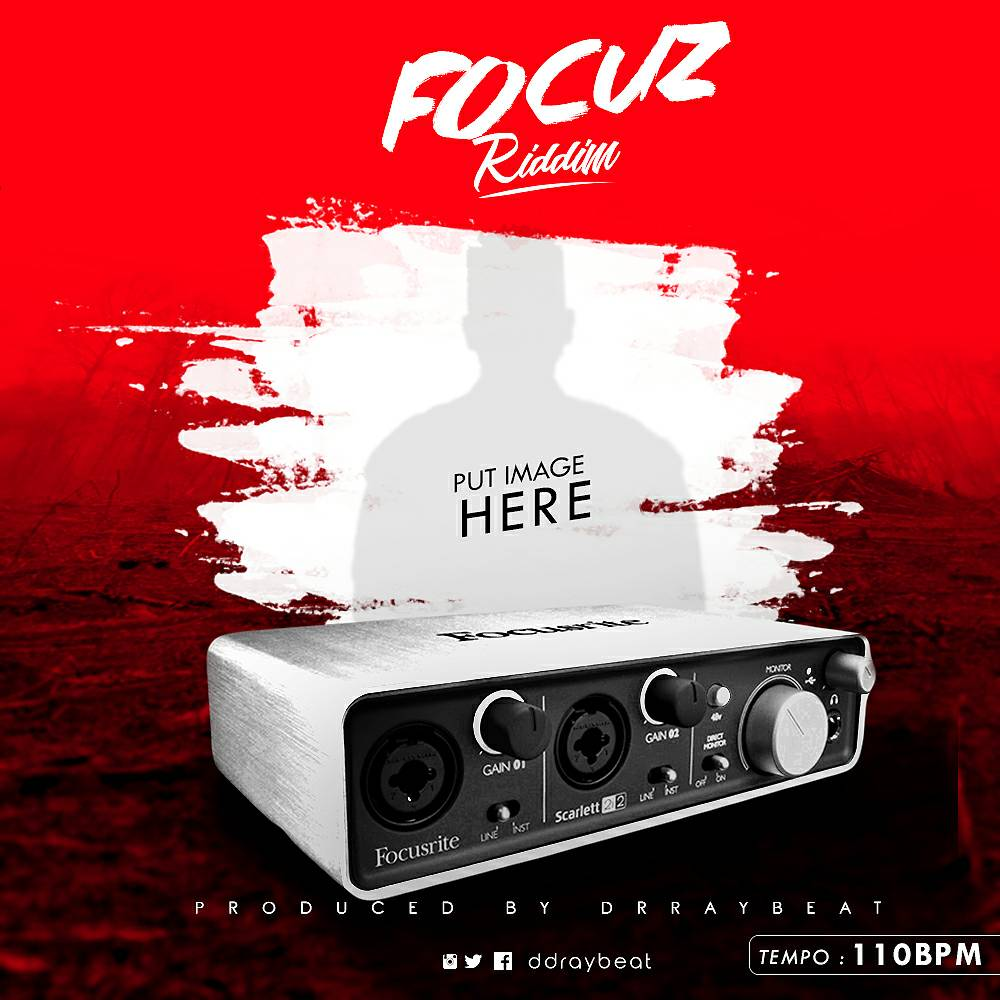 Drraybeat - Focuz Riddim (Free Instrumentals) (Prod by drraybeat)