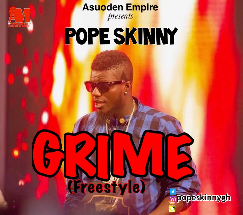 Pope Skinny - Grime (Freestyle)
