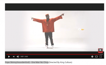 Pope Skinny (AsuodenGod) - One Man No Chop (Official Video)