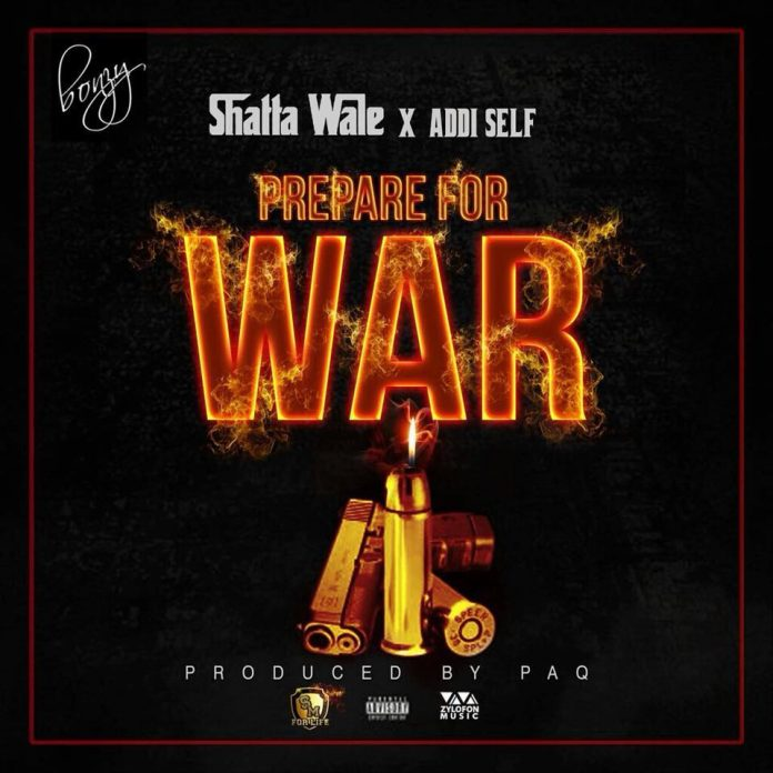Shatta Wale x Addi Self – Prepare For War (Prod. By Paq)