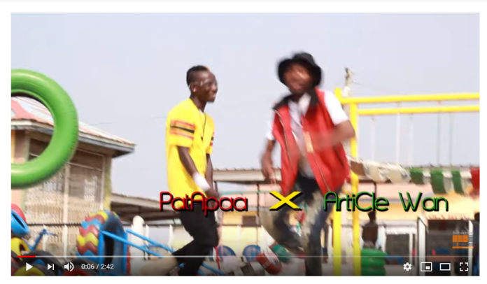Patapaa – Enemies ft. Article Wan (Official Video)