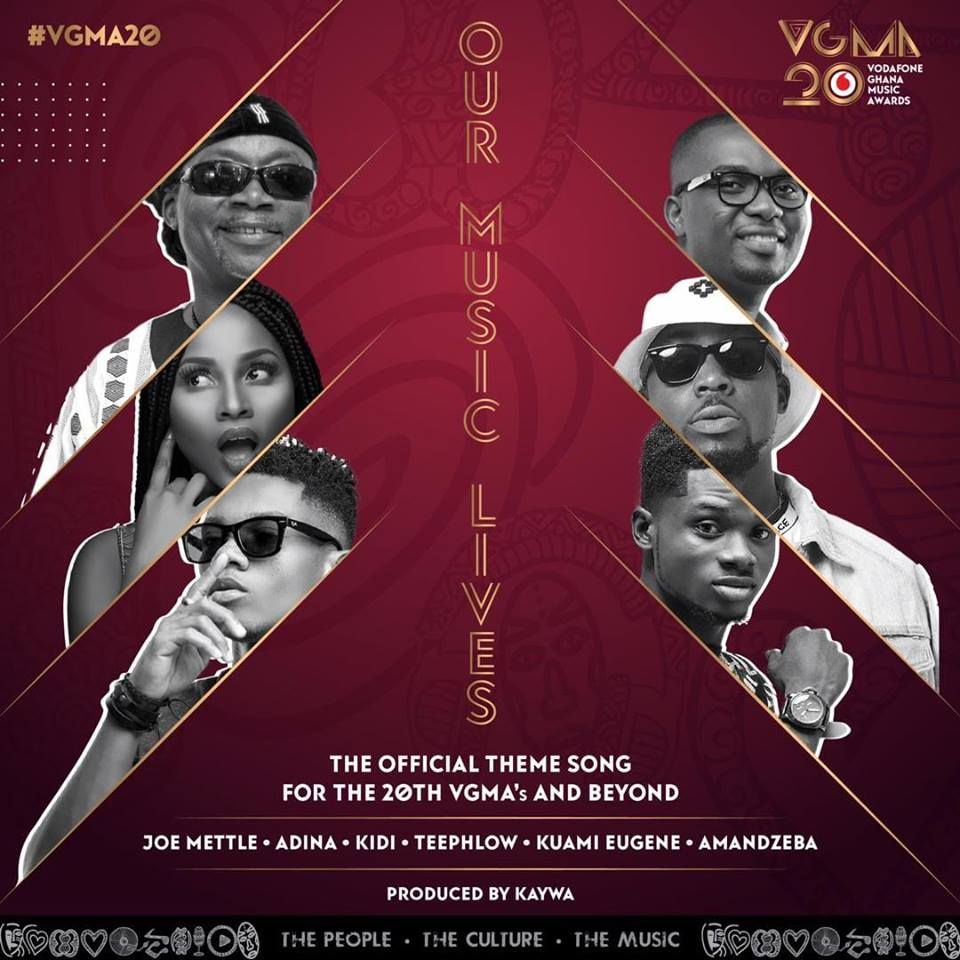 Kuami Eugene x Amandzeba x Kidi x Adina x Joe Mettle x Teephlow – Our Music Lives