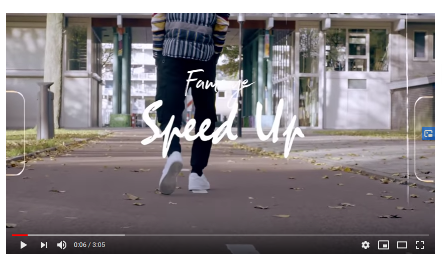Fameye - Speed Up (Official Video)