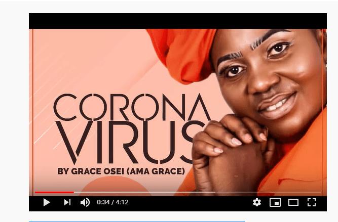 Grace Osei (Ama Grace) - Corona Virus