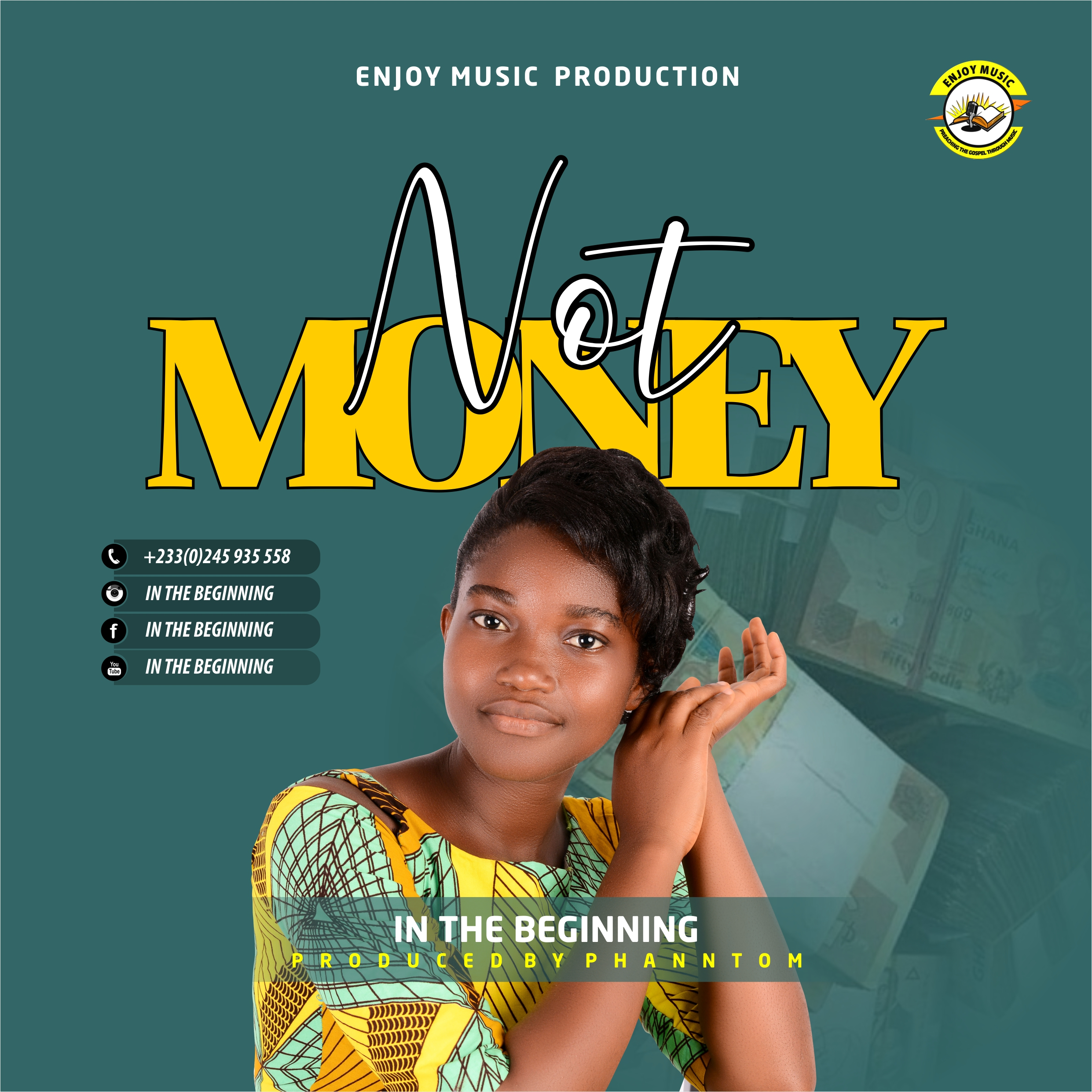 DOWNLOAD MP3 : In the Beginning – Not Money (Prod By Phanntom)