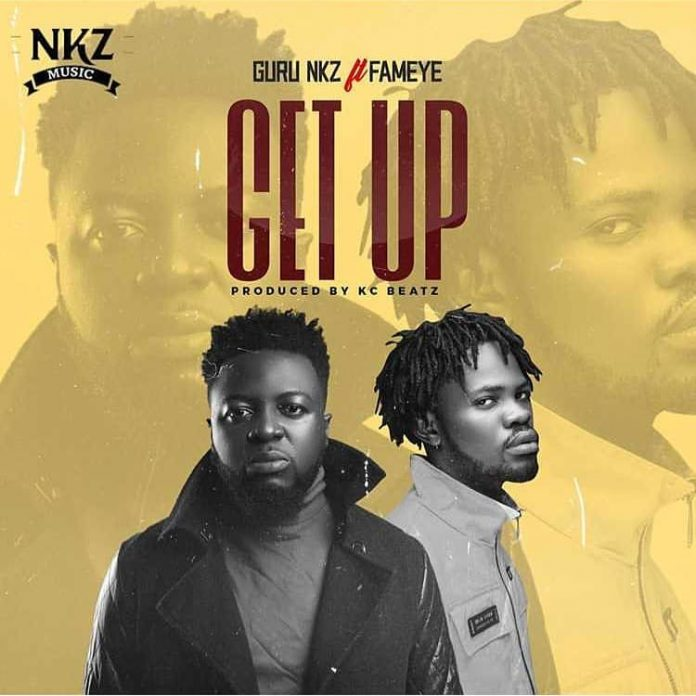 Guru Ft Fameye - Get Up (Prod By KC Beatz)
