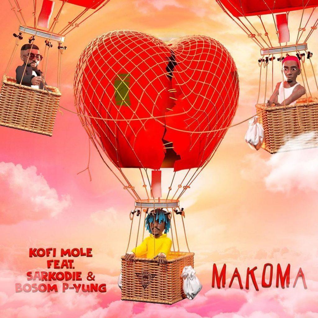 Kofi Mole Ft Sarkodie & Bosom P-Yung - Makoma