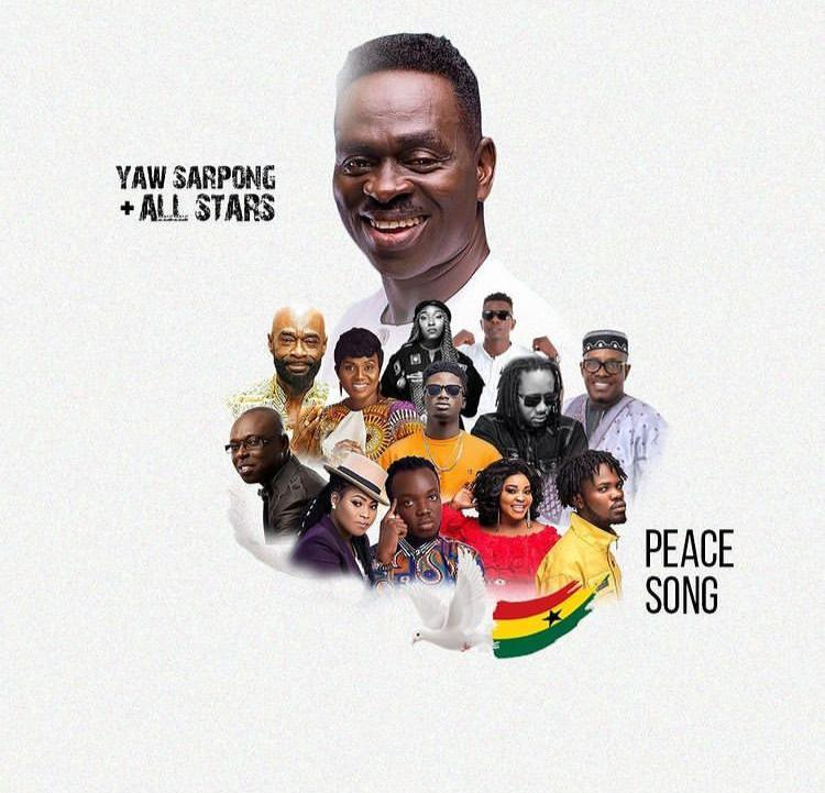 Yaw Sarpong – Peace Song Ft. Kuami Eugene, Fameye, Akwaboah, Joyce Blessings, Wutah Afriyie, Eno Barony, Kofi Sarpong, Pat Thomas, Lord Morgan