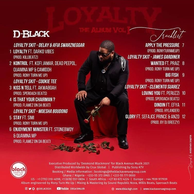 D-Black ft. Ice Prince X Sefa & Anzo - Glory