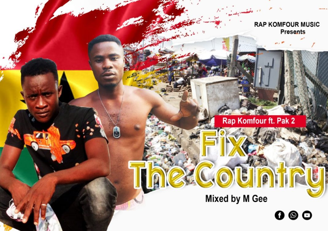 R.K ft Pac 2 - Fix The Country (Mixed By M'Gyei)