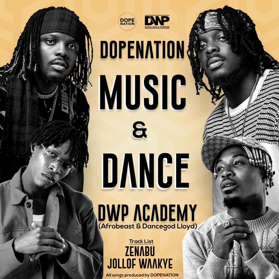 DopeNation x Dancegod Lloyd x Afrobeast x DWP Academy - Jollof Waakye